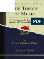 The Theory of Music 1000006671
