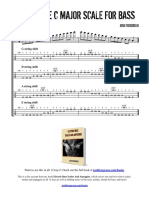 Two Octave Major Scale for Bass