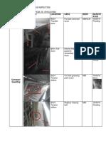 Conveyor 1,20 Inspection Report
