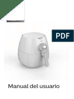 Manual Freidora Philip