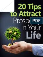 20 Tips to Attract Prosperity in Your Life