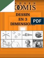 Andrew Loomis - Dessin en 3 Dimensions