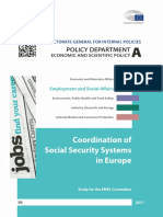 Coordination of Social Security Systems in Europe