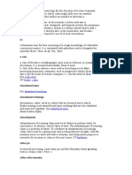 Madencilik Terimleri İngilizce1 (a-f)