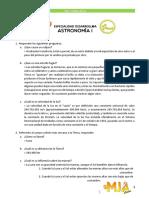 Astronomía 1