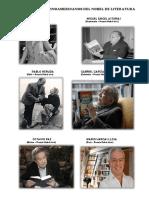 Latinoamericanos - Premios Nobel de Literatuta
