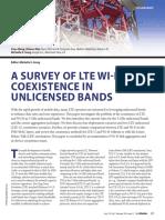 LTE-U Survey XuyuWang