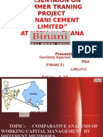 Presentation of Binani Cement