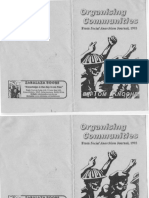 Organising Communities  by Tom Knoche