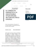 El Corralito Energético_ La Insostenible Situación Del Sector Eléctrico Español