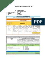 2.- Sesiones de Aprendizaje - Unidad Didáctiva N° 08 - Quipus Perú.docx