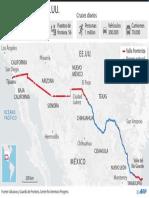 La frontera EE.UU. - México