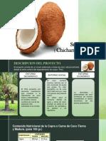 Snack de Chicharon de Coco