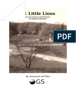 81 Little Lions - An Introduction to the 9x9 Board for Advanced Beginners - Revised Edition (2019) - Immanuel DeVillers