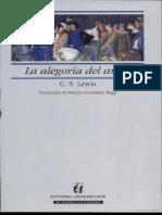 263309974 La Alegoria Del Amor PDF