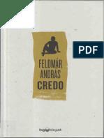 Feldmár András Credo