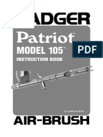 Badger Air-Brush Mod 105