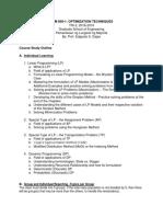 Optimization Techniques Course Study Outline Tri-2 _2018-2019.pdf