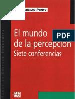 Maurice Merleau-Ponty - El mundo de la percepción.pdf