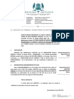 Requerimiento de Pago Bajo Apercibimiento de Multa │ Proceso Contencioso Administrativo