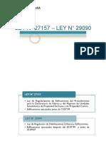 Ley 27157 - 29090