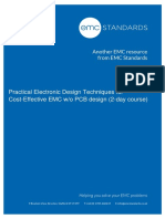 2-Day Practical Electronic Design for Cost-effective Emc W-o Pcb