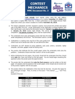 Document 3 MMC 2019 Contest Mechanics