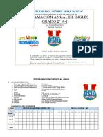 Programacion Curricular Anual-2º de Secundaria