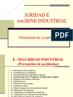Accidentes Industriales - Resumen