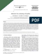 Soil Quality Indicators
