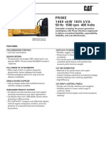 Data Sheet Cat 3516a
