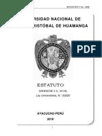 Estatuto Universitario 2018 Socializacion Formateado