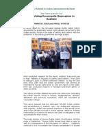 Watchdog Documents Repression in Kashmir