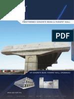 API Prestressed Concrete Beam Parapet Wall