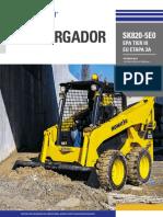 Catálogo Minicargador SK820 5E0 Español Digital
