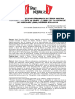 """A (Re)Construção Da Personagem Histórica Martina Chapanay (1800-1874) No Conto """"El Maestro y La Reina de Las Amazonas"""" (2001), De María Rosa Lojo"""