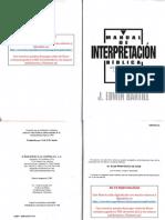 01 Manual de Interpretacion Bíblica - J. Edwin Hartill