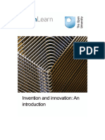 Invention and Innovation an Introduction