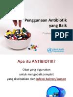 Penggunaan Antibiotik