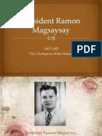 President Ramon Magsaysay.pptx
