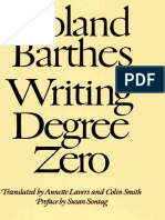 Barthes, Roland - Writing Degree Zero (FSG, 1990)