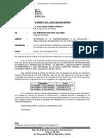 Informe N° 002- Informe de Actividades