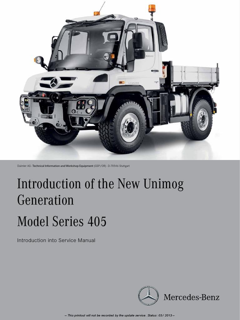 manual for unimog u400