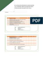 Lembar Evaluasi Praktek Profesionalisme Dokter