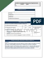 Formulário de Avaliação de Processos Organizacionais