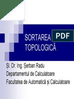 SORTAREA TOPOLOGICA