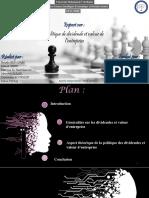 11.Politique Des Dividendes Et Valeur d'Entreprise-Finall