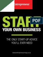 Entrepreneur Start Your Own Business - Issue 1, 2018