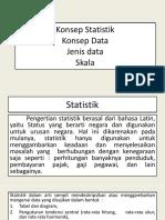 KONSEP STATISTIK