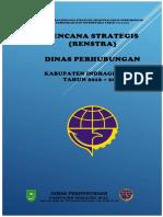 Rencana Strategis Dinas Perhubungan